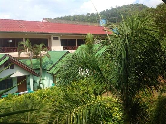 Ao Nang Village Resort: вид с балкончика