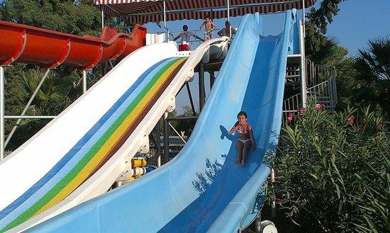 Yali Castle Aquapark: Çocuk kaydırakları