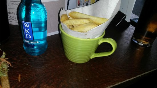 Walkabout: Cup of chips