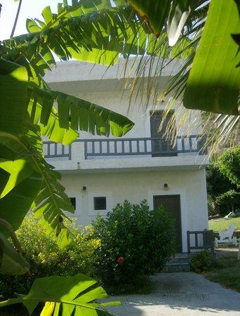 Matala Valley Village Hotel : Onze kamer op het eerste verdiep