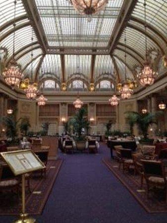 San Francisco City Guides : Palace Hotel Garden Court (Earthquake tour)