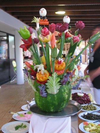Kapetanios Bay Hotel: Шедевр от повара