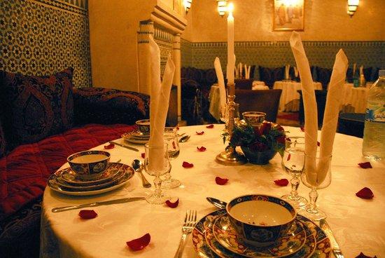 Riad Kniza Restaurant: Dinner