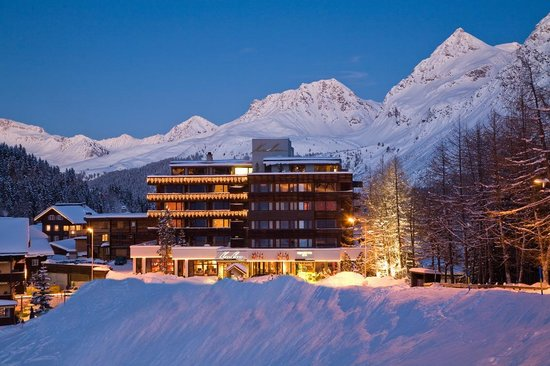 Arosa Kulm Hotel & Alpin Spa : Exterior