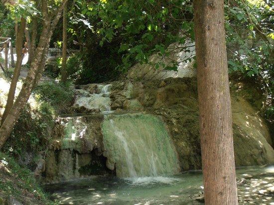 Fosso Bianco - Bagni San Filippo: fiume