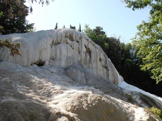 Fosso Bianco - Bagni San Filippo: parete