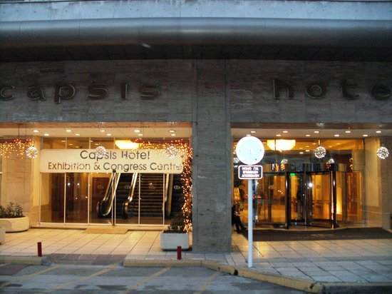 Capsis Hotel Thessaloniki: outside wiev