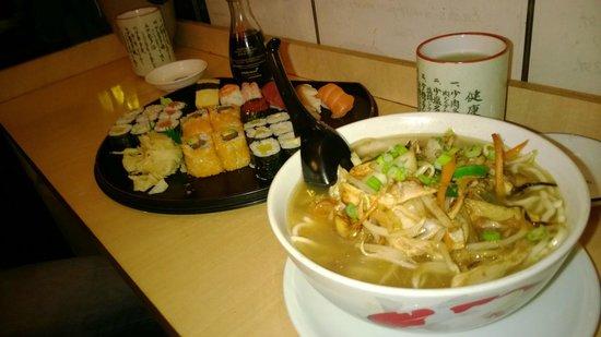 Musashi: soup - sushi