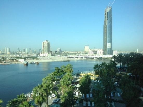 InterContinental Dubai Festival City: Another beautiful view from Creek Side room