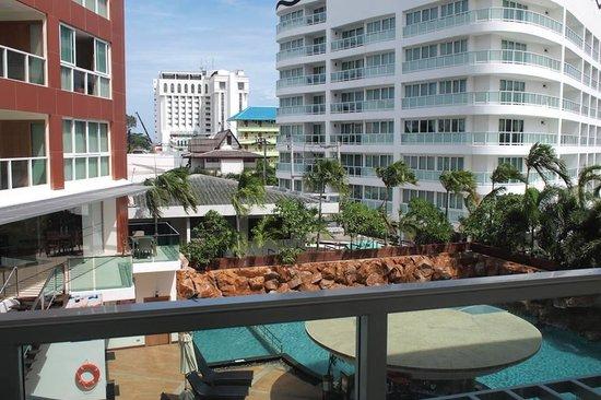 Centara Nova Hotel & Spa Pattaya: the view from my room