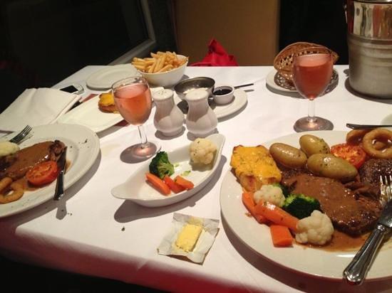 BEST WESTERN Carlton Hotel: 3 course meal £15:95 beautiful