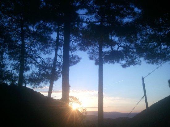 Hostal-restaurante Fogon de Gredos: amanecer