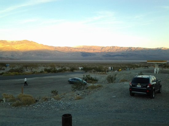 Panamint Springs Resort: View from outside the cabin.