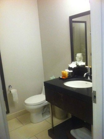 Ravel Hotel: Bathroom