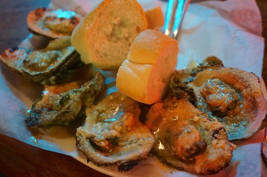 Acme Oyster House : chargrilled oysters