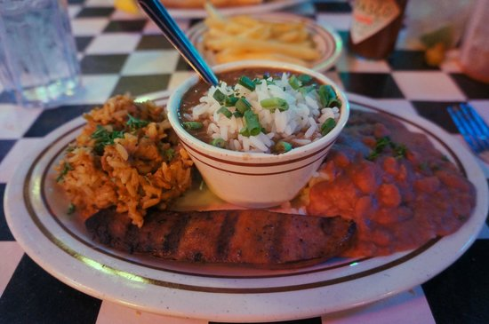 Acme Oyster House : Red beans/rice, gumbo, jambalaya