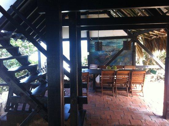 Finca Barlovento Cabaña & Maloka: Sala de Jantar