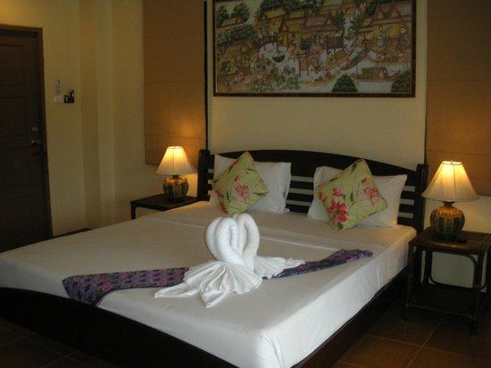 Samui Laguna Resort: the bedroom, which looks very nice