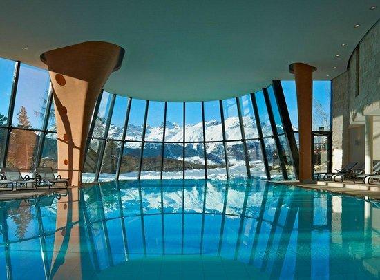 Pontresina, İsviçre: Grand Hotel Kronenhof