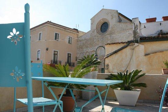 Residenza Sveva: Vista dal terrazzo