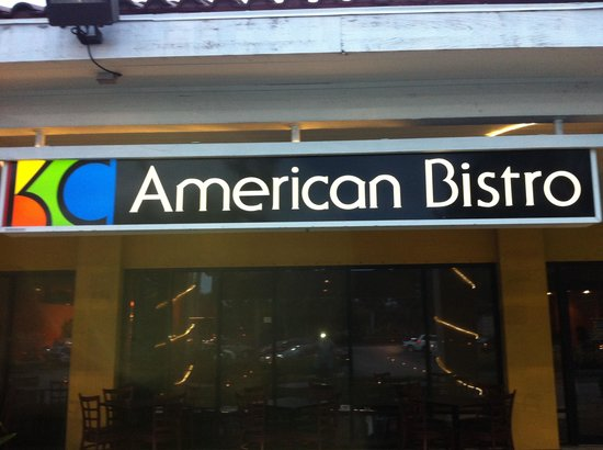 KC American Bistro: It speaks for itself