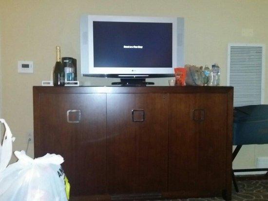 Le Meridien Arlington: Our Suite TV!