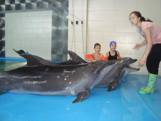 Odessa Delphinarium Nemo: Фото на память.