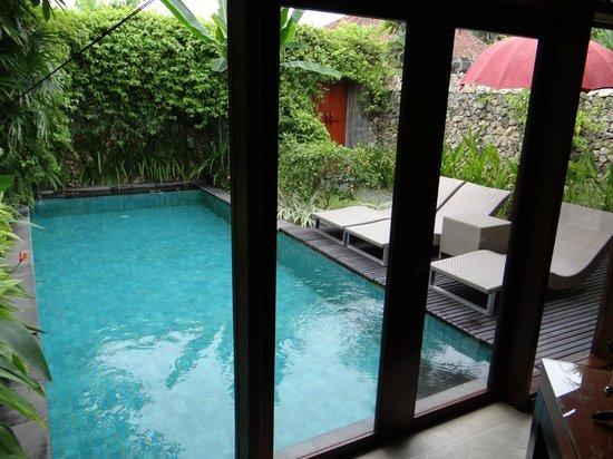 The Pavilions Bali: Der Pool zur Villa
