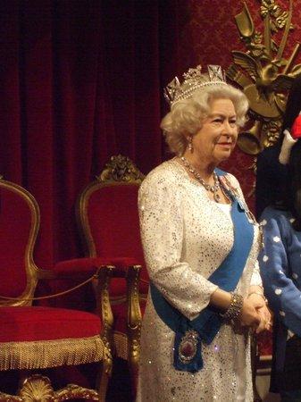 Madame Tussauds London: la regina uguale