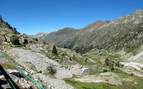 L'arrajou: Panorama depuis le petit train d'Artouste.