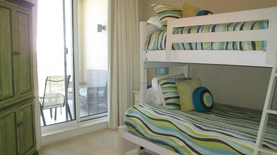 Indigo Condominiums: GUEST BEDROOM W/BALCONY ACCESS