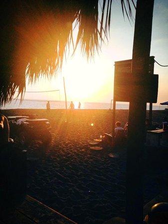 Coucher de soleil au 5 à 7 du Johnny's Place