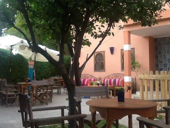 Jardin picture of amal marrakech tripadvisor for Restaurant jardin marrakech