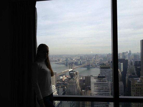 Millennium Hilton New York Downtown: вид из номера на 54 ом этаже