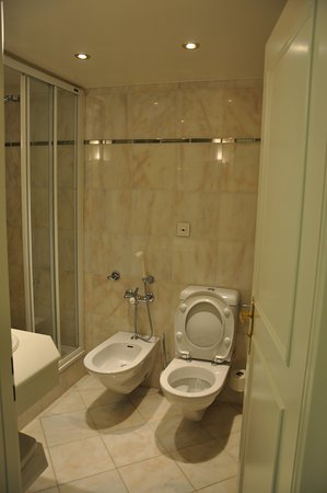 Hotel Bristol: Wash Room