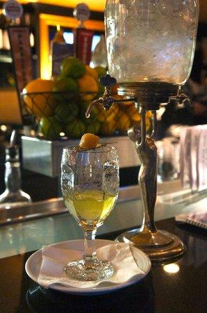 Bourbon O: Absinthe drip