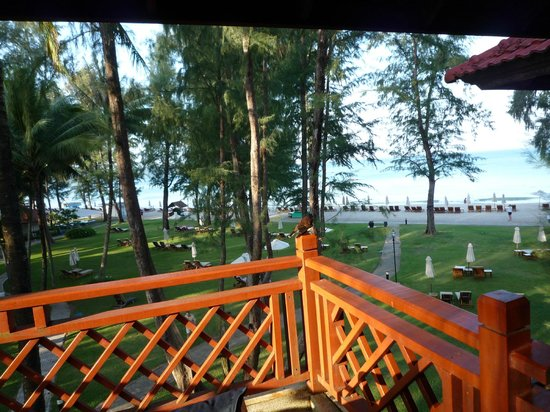 Dusit Thani Laguna Phuket: ペランダからの眺め