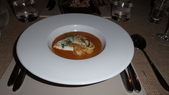 The Noisy Lobster at Avon Beach : The soup course