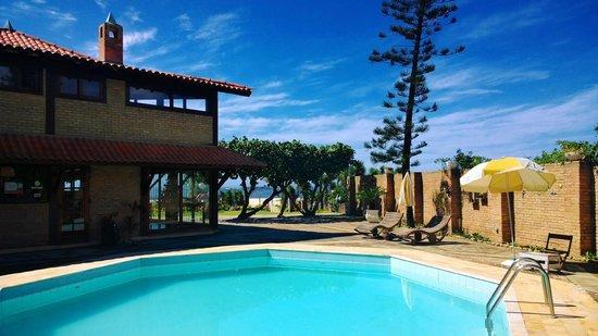 Sudoeste Inn: View from the pool / Vista da piscina