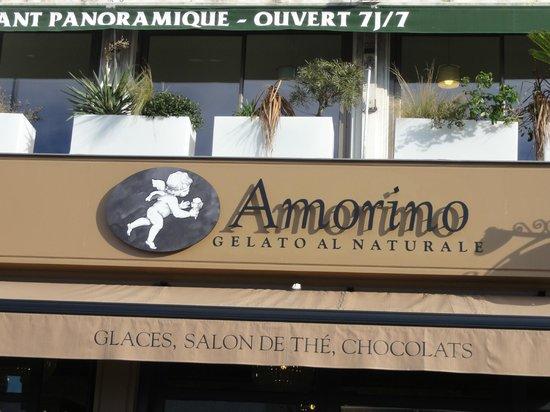Amorino Cafe : l'insegna