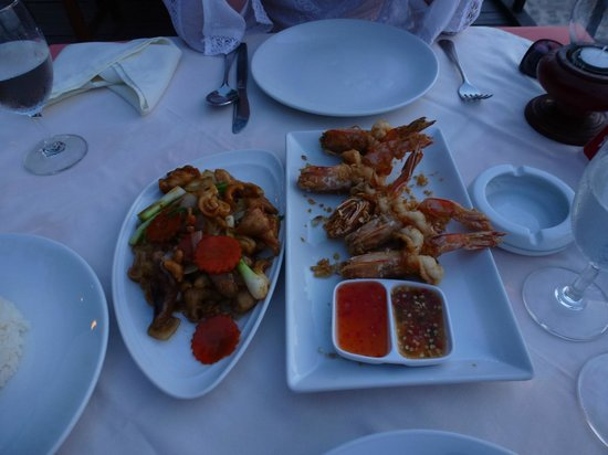 Tony Seafood Restaurant: Leichtes Dinner :-)