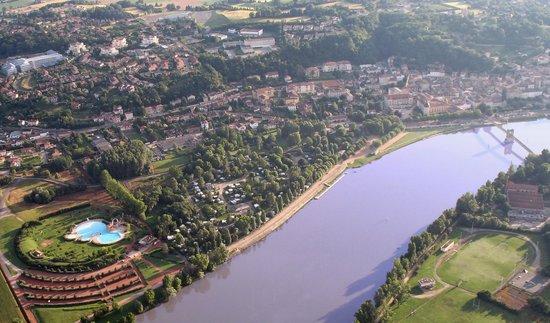Kanopée Village de Trévoux : Vue aérienne