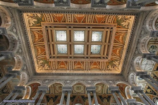 Biblioteca del Congreso: Great Hall ceiling