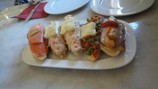 La Ermita Tapas Bar : Selection of Tapas