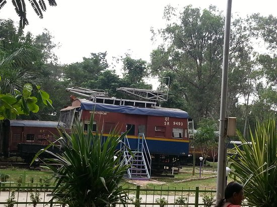 Chennai Rail Museum: One old relief train at display