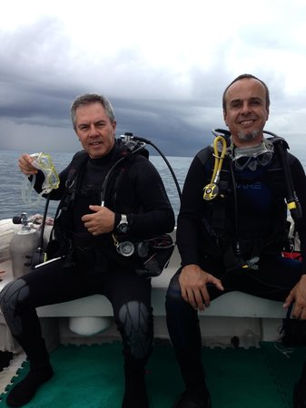 Cozumel Sports: Listos para la segunda inmersión.