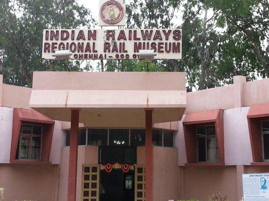 Chennai Rail Museum : Rail Museum Building