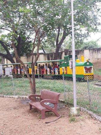Chennai Rail Museum : toy train