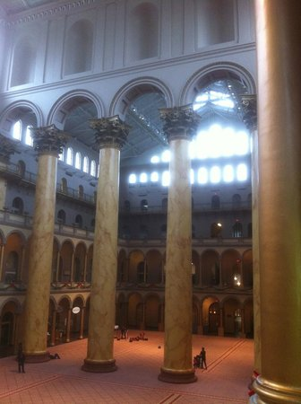 National Building Museum : Interior