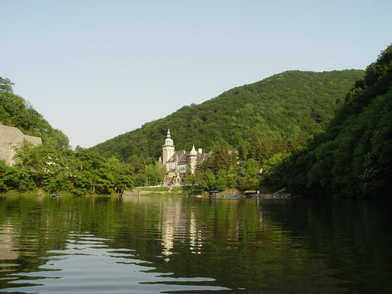Miskolc, Hungary: ...from the lake, (Hamori to)